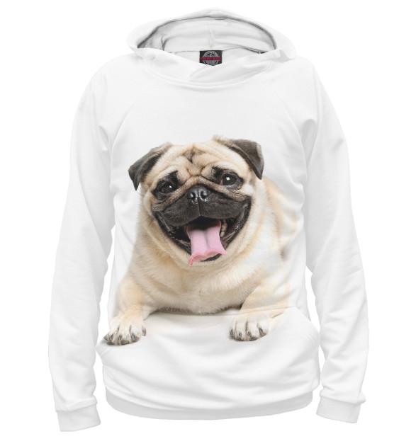 Купить Худи для девочки Мопс DOG-736714-hud-1