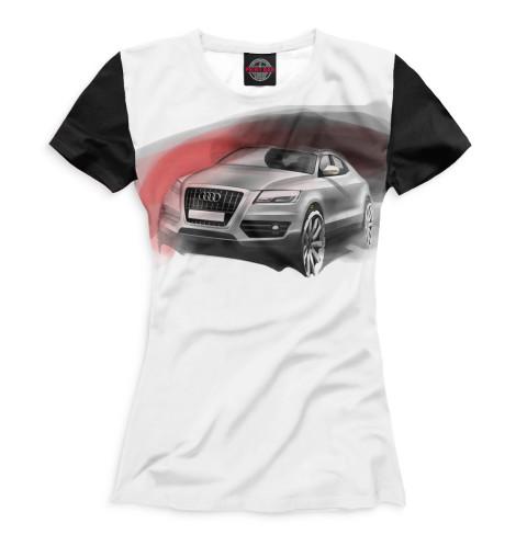 Женская футболка Audi Q5