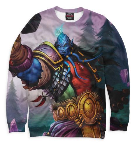 Мужской свитшот World of Warcraft