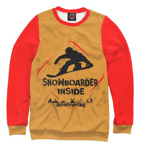 Свитшот Print Bar Snowboarder Inside looking inside