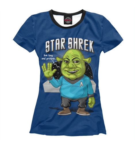 Футболка Print Bar Star Shrek