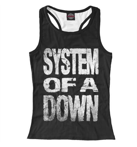 Женская майка-борцовка System of a Down