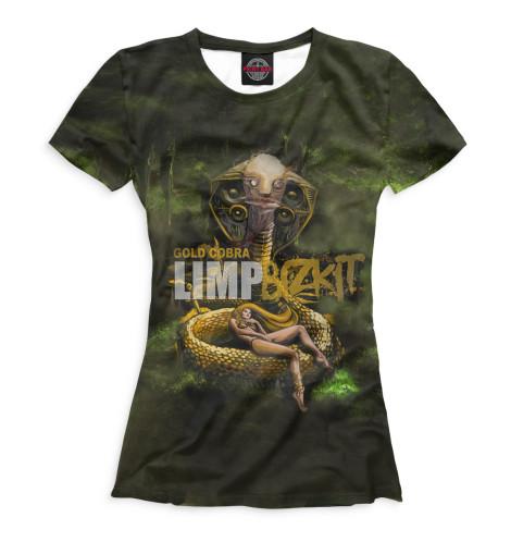 Женская футболка Gold Cobra