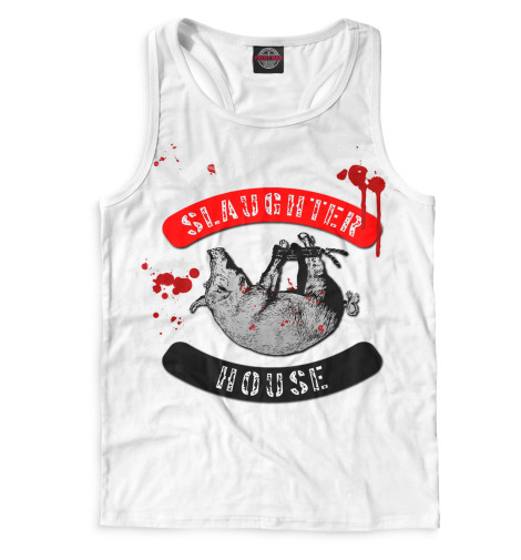 Мужская майка-борцовка Slaughterhouse