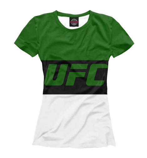 Футболка Print Bar UFC GREEN майка print bar ufc green