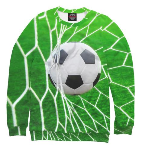 Фото - Мужской свитшот Футбол от Print Bar белого цвета