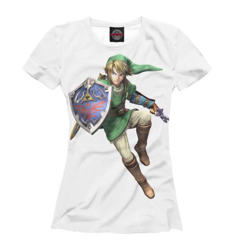 Футболка Print Bar The Legend of Zelda майка классическая printio link legend of zelda