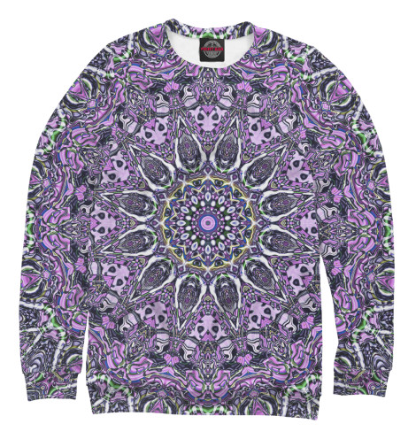 Свитшот Print Bar Purple mandala майка print bar purple mandala
