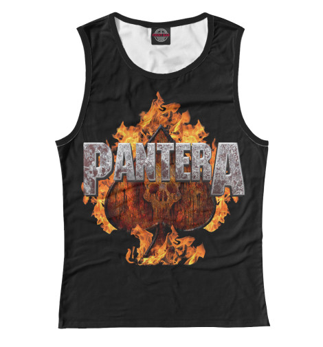 Майка Print Bar Pantera Spades of Fire майка print bar pantera