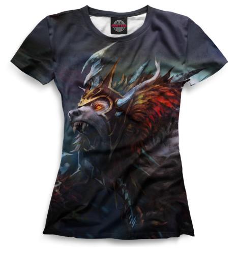 Женская футболка Ursa