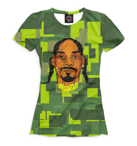 Женская футболка Snoop Dogg