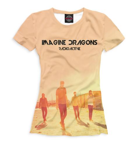 Женская футболка Imagine Dragons