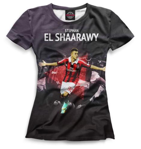 Женская футболка Эль-Шаарави