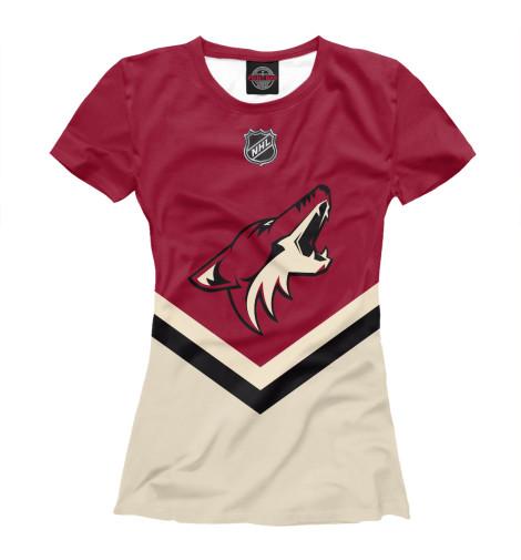 Футболка Print Bar Arizona Coyotes футболка для беременных printio arizona coyotes