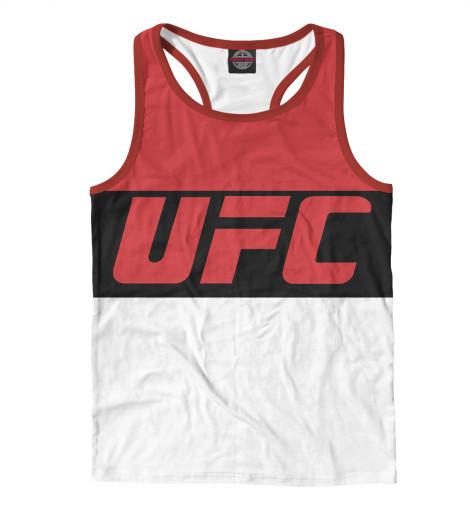 Майка борцовка Print Bar UFC RED майка борцовка print bar ufc logo