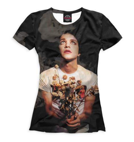 Женская футболка Брайан Молко