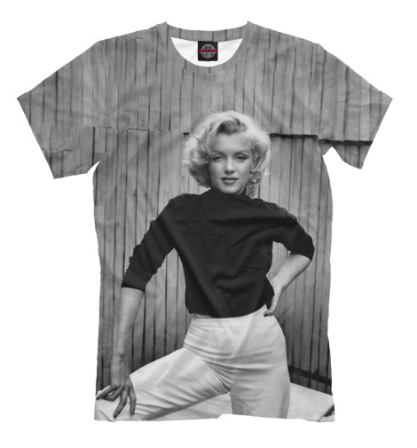 Футболка Print Bar Marilyn Monroe trybeyond футболка для мальчика 999 74498 00 40z серый trybeyond