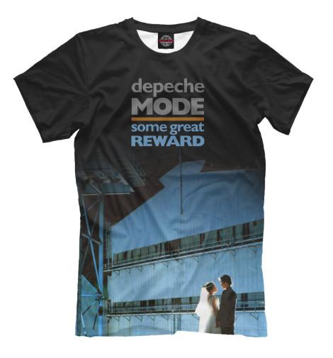 Футболка Print Bar Some Great Reward виниловые пластинки depeche mode some great reward 180 gram gatefold