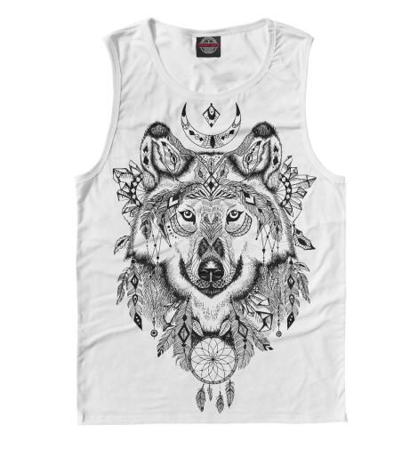 Майка Print Bar Волк тотем футболка print bar волк тотем