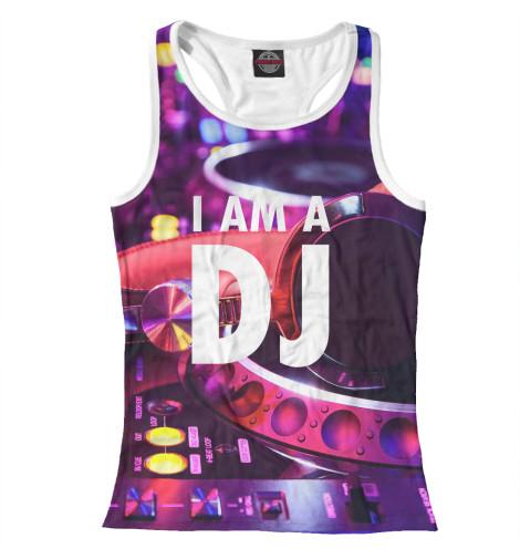 Майка борцовка Print Bar I am a DJ 6w led bola magica sonido mando a distancia dj shop dj efectos luces efectos luz sonido eventos fiestas 7 dmx512 canales