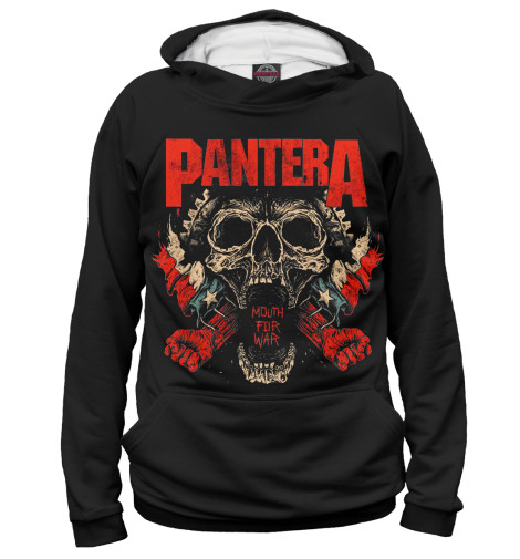 Худи Print Bar Pantera Mouth For War свитшот print bar pantera skull and snake