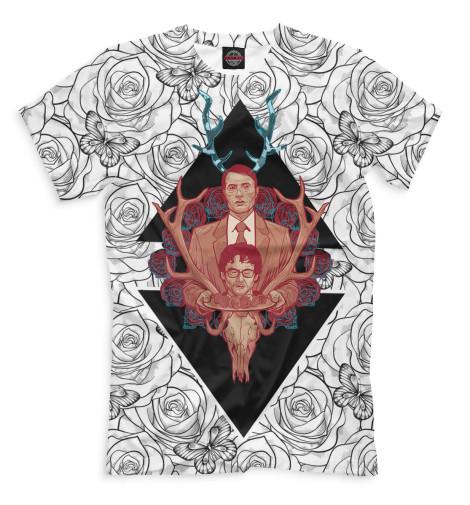 Купить Мужская футболка Ганнибал HOR-976643-fut-2