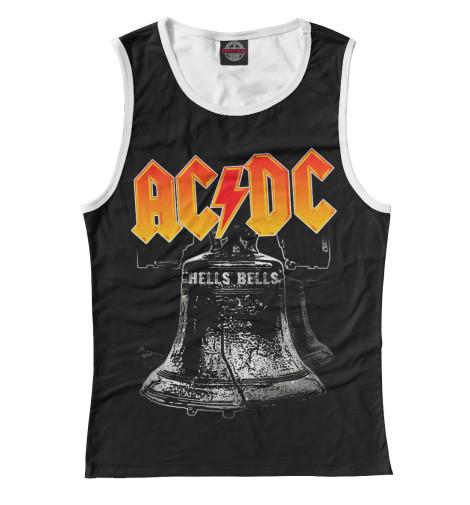 Майка Print Bar AC/DC Hells Bells мультиметр uyigao ac dc ua18