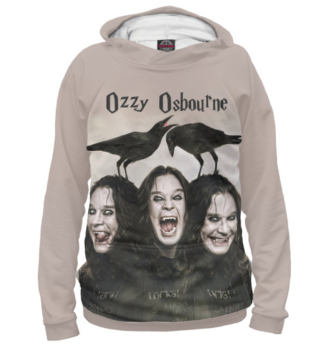 Худи Print Bar Ozzy Osbourne