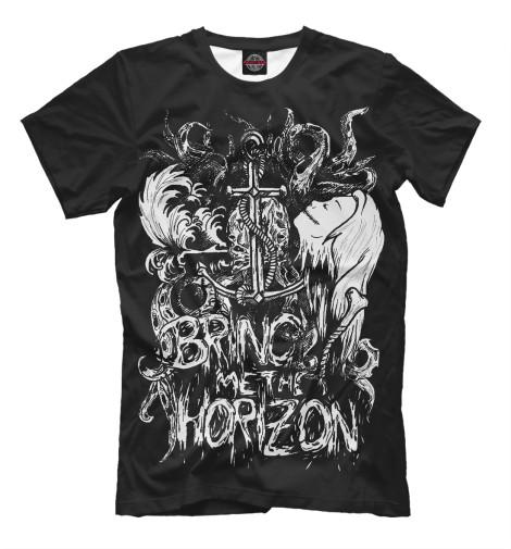 Футболка Print Bar Bring Me the Horizon футболка для беременных printio bring me the horizon