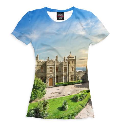Женская футболка Крым