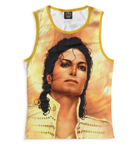 Женская майка Michael Jackson