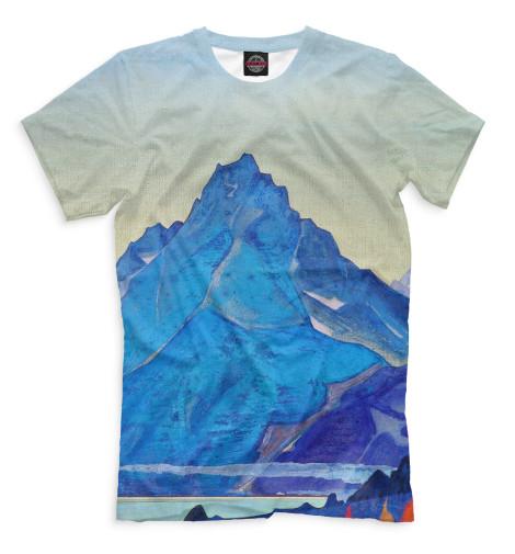 Мужская футболка Озеро Нагов