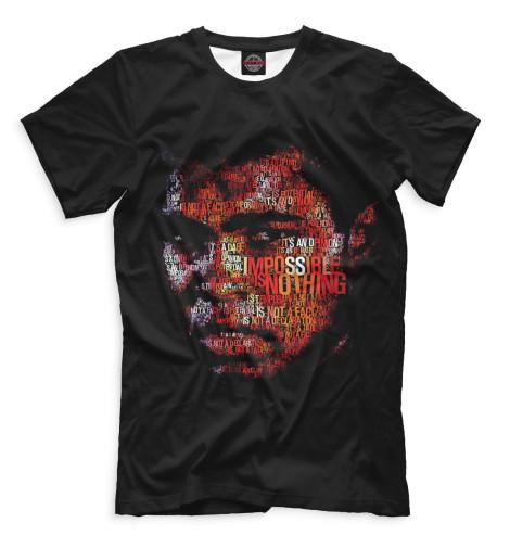 Мужская футболка Мухаммед Али