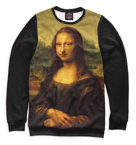 Мужской свитшот Мона Лиза Джоконда