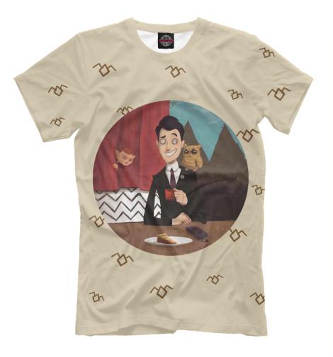 Купить Мужская футболка Твин Пикс TPS-396392-fut-2