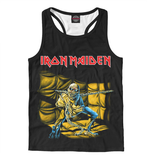 Майка борцовка Print Bar Iron Maiden Piece of Mind свитшот print bar iron maiden piece of mind