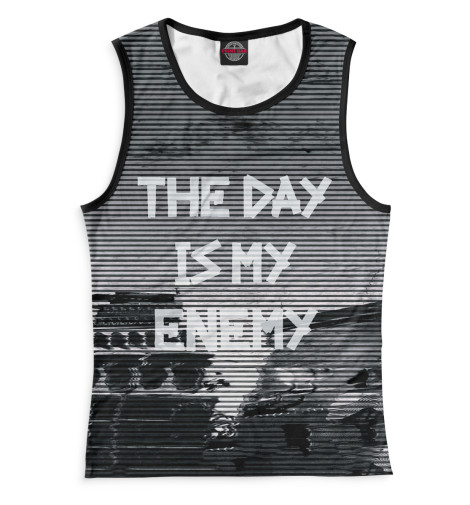 Майка Print Bar The Day Is My Enemy graham greene the captain and the enemy