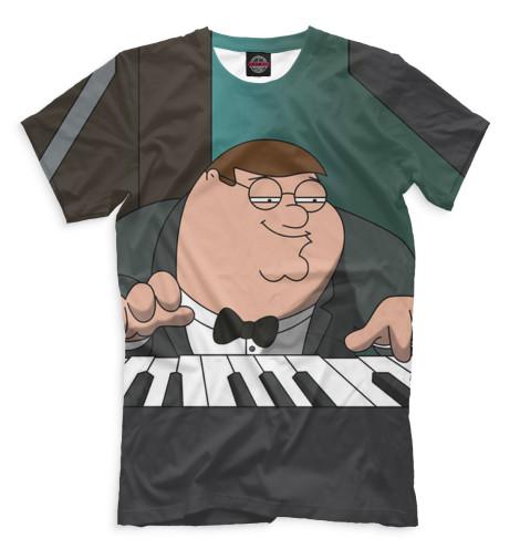 Мужская футболка Питер