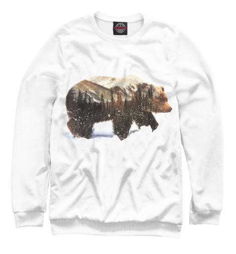 Свитшот Print Bar Медведь свитшот print bar медведь вдв