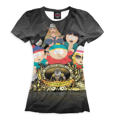 Женская футболка Южный Парк