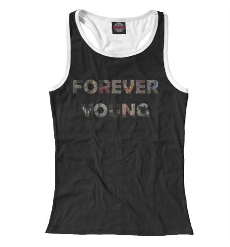 Майка борцовка Print Bar Forever Young худи print bar young thug