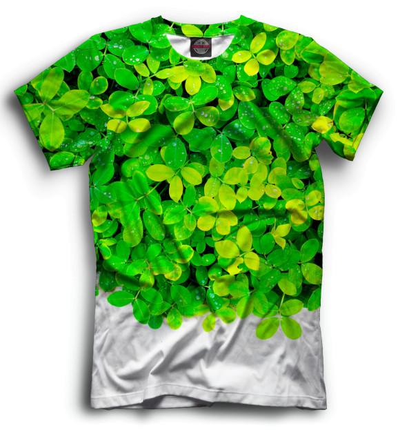 Купить Мужская футболка Цветы CVE-855778-fut-2
