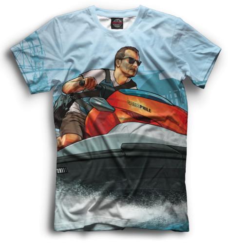 Мужская футболка Майкл Де Санта
