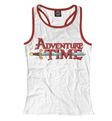 Майка борцовка Print Bar Adventure Time майка борцовка print bar adventure time & marvell