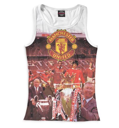 Женская майка-борцовка Manchester United кубикВсе майки изготавливаются в Москве на нашем производстве и состоят из высококачественного материала кулирная гладь &amp;ndash; эта одна из самых долговечных и стойких к износу тканей. Благодаря этому, качество изображения на футболке получается наиболее ярким и насыщенным и выдерживает любое количество стирок.<br><br>Размер INT: 2XS,XS,S,M,L,XL,XXL,XXXL,4XL,5XL,104,110,116,122,128,134,140,146,152,158<br>Цвет: Белый<br>Пол: Женский<br>Материал: Хлопок