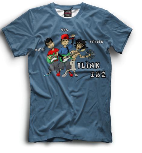 Мужская футболка blink-182