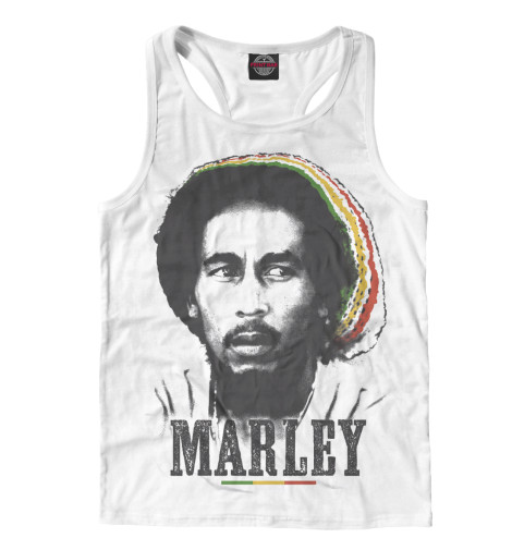 Майка борцовка Print Bar Bob Marley bob marley bob marley live