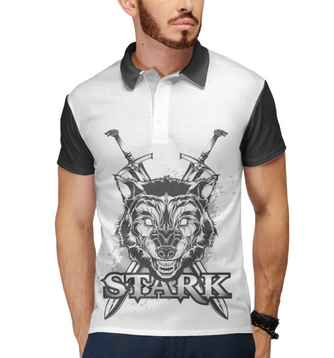 Поло Print Bar Game of Thrones Stark поло print bar game of thrones