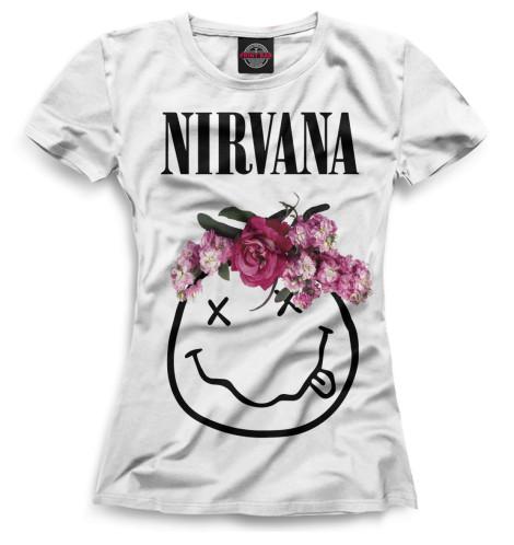 Купить Женская футболка Nirvana NIR-175493-fut-1