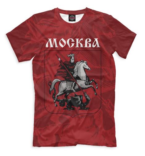Мужская футболка Герб Москвы